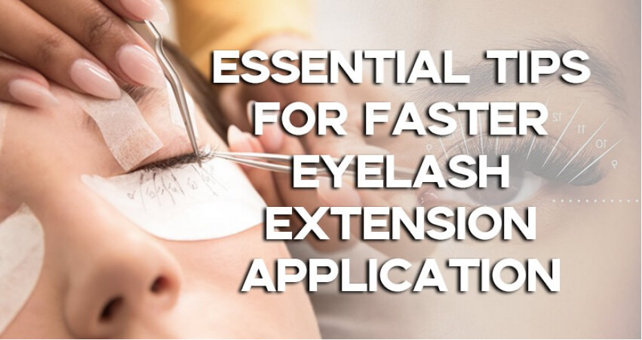 Essential Tips For Faster Eyelash Extension Application!