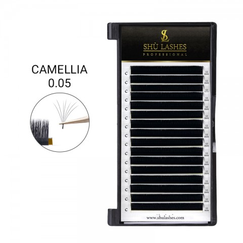 Camellia Lash Extensions 0.05 Mixed Tray 8-15mm (16 Lines)