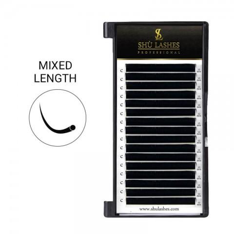 Premium Classic Lashes Mixed Length 8~15mm (16 Lines)