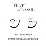 Ellipse Flat Lash Extensions 0.15mm (16 Lines)