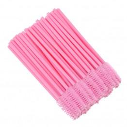 Pink Disposable Mascara Wand Brush 50 pcs