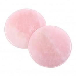Pink Jade Stone Glue Holder 1Pcs