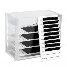 5 Layers Eyelash Storage Box