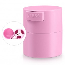Pink Eyelash Glue Storage Tank