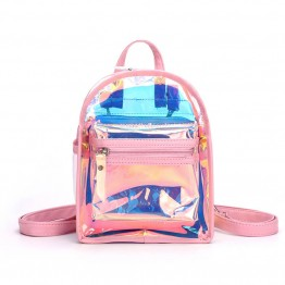 Pink Mini Backpack For Eyelash Extensions